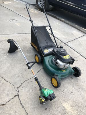 Mower and Weed Wacker Combo LAWN YARD CARE PACKAGE for Sale in Manteca, CA