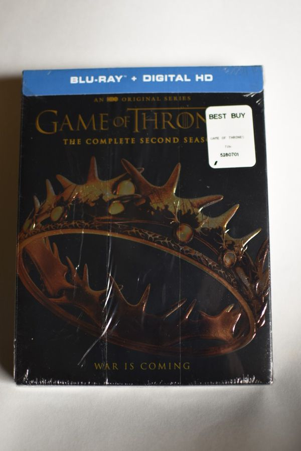 Game of thrones bluray complete LIKE NEW