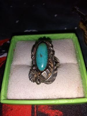 Turquoise and SS ring for Sale in Apache Junction, AZ