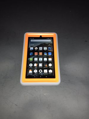 7th Gen Kindle Fire with Case $40 no trades no holds for Sale in Indianapolis, IN