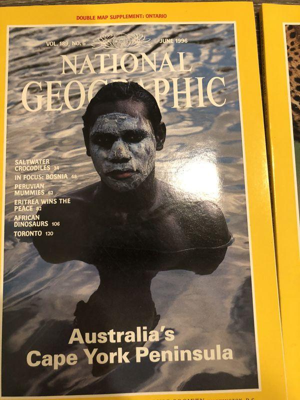 ~Vintage~National Geographic 1993 Mar, June, July, Aug, Oct, Sep, Nov, December.