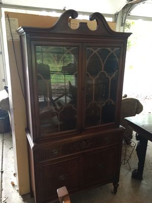 Antique china cabinet for Sale in Wayne, IL