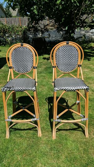 Wicker bar stool for Sale in Vancouver, WA