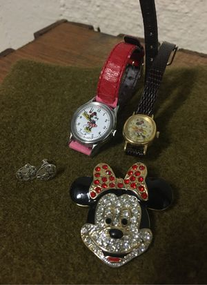 Vintage Disney jewelry lot of (4) for Sale in Snoqualmie, WA