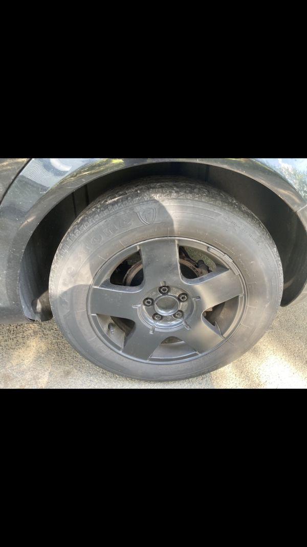 """Volkswagen Avus Rims 15"""". BLACK"""