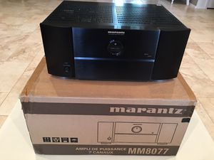 Marantz MM8077 7 Channel Amplifier Amp for Sale in Mesa, AZ