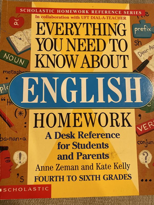 Scholastic Homework Reference Guides