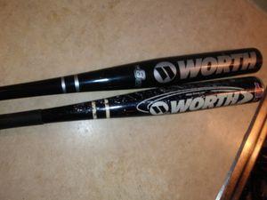 2 baseball bats for Sale in Dallas, TX