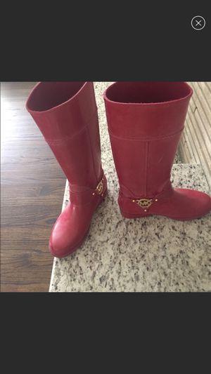 MK rain boots size 8 for Sale in Dearborn, MI