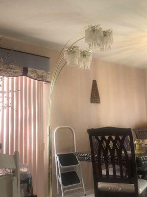2 Chandelier High Standing Floor Lamps. $75 each for Sale in Ontario, CA
