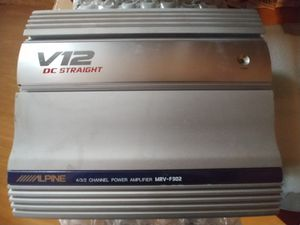 Alpine old school 4-channel amp - cash only! for Sale in Nashville, TN