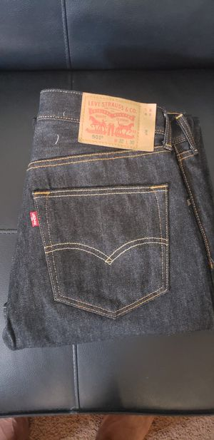 Levi 501 Jean's (W 32 L30) Color: Black (Stonewashed) for Sale in Pittsburgh, PA