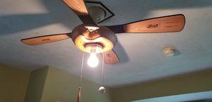 Ceiling fan baseball bat blades glove motor for Sale in W COLLS, NJ