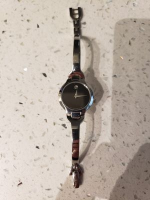 Movado- Kara Stainless Steel Women's Watch for Sale in Friendswood, TX