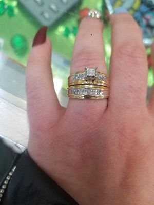 Wedding ring set for Sale in Austin, TX