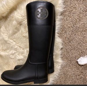 Tory Burch rain boots for Sale in Garden Grove, CA