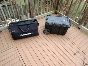 Large tool bag and box for Sale in Centreville, VA