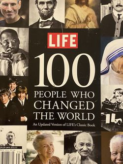 LIFE 100 People Who Changed The World for Sale in Vista,  CA