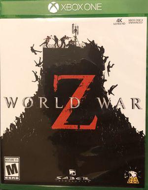 World war z for Sale in Zimmerman, MN