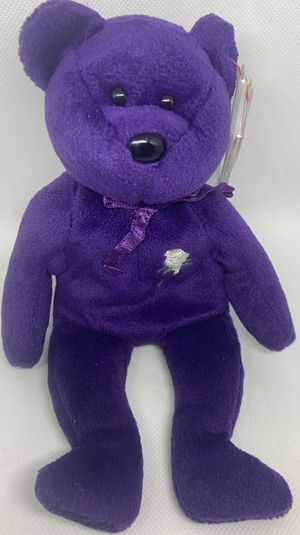 Ty Beanie Baby Princess Diana Bear 1997 - Mint Condition for Sale in Washington, DC