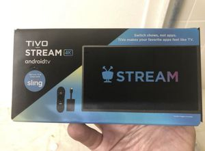 TiVo Stream 4K - With Google Assistant & Chromecast Built-In - 4K UHD Brand new for Sale in Clearwater, FL