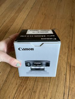 Canon 24mm Lens (new In Box) for Sale in Oakland,  CA