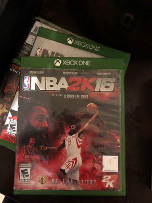 NBA 2k16 Xbox One ( Still works ) for Sale in West Palm Beach, FL