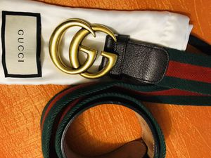 Gucci 100% Authentic Wide Web Belt for Sale in Oakbrook Terrace, IL