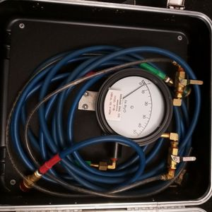 Gerand Engineering Co. R-50 Venturi Flow Fire Pump Test Meters w/Lock Carry Case for Sale in Tampa, FL