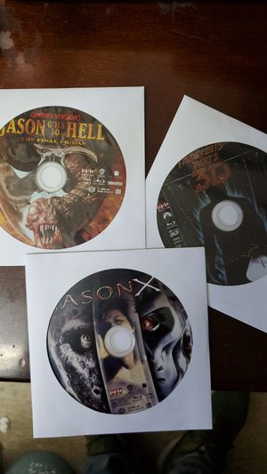 Friday the 13th Bluray Discs only. for Sale in Los Angeles, CA