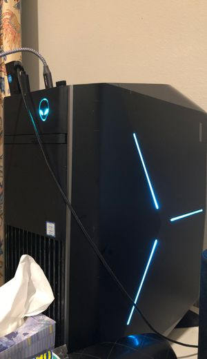 alienware pc + 27inches monitor for Sale in Irvine, CA