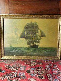 Antique Picture 22 X 16 for Sale in Dallas,  TX