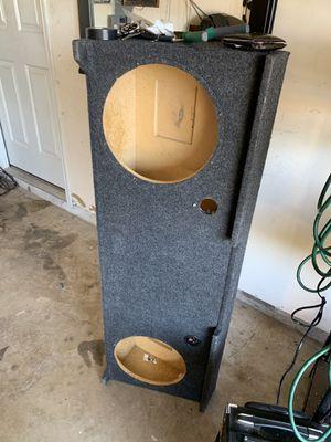 2008 to 2014 crew cab silverado speakers box for 12 for Sale in Grand Prairie, TX