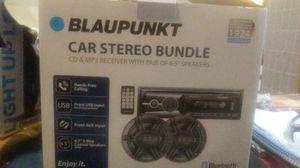 Blaupumkt car stereo bundle for Sale in Lilburn, GA