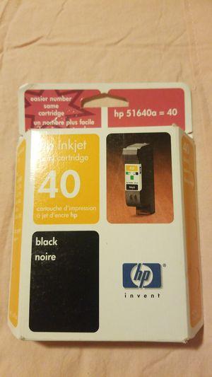 Hp inkjet print cartridge 40 black for Sale in Brea, CA