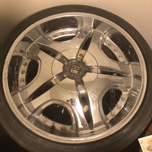 22INCH TIS RIMS MUST SALE for Sale in Irving, TX