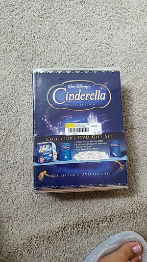 Cinderella Special Edition DVD Gift Set for Sale in Rockville, MD