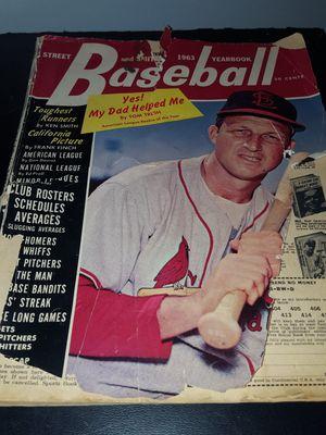 1963 base ball mag, stan on front , german sltien,)ol soda bottles, etc....make offer for Sale in Cuba, MO