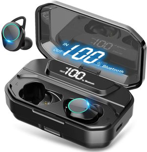 True Wireless Earbuds Bluetooth 5.0 Headphones, IPX7 Waterproof Earphones for Sports for Sale in Miramar, FL