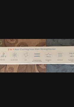 Straightener / curling iron for Sale in Marietta,  GA