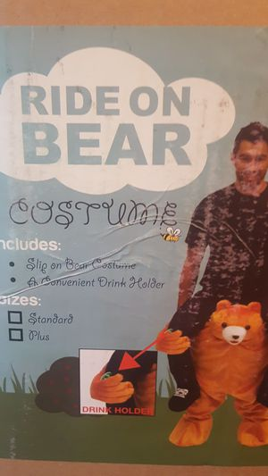 Adult Halloween costume ride on a bear. for Sale in Boston, MA