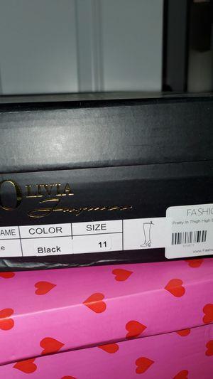 FashionNova boots size 11 for Sale in Glenarden, MD