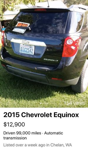 2015 Chevy Equinox Immaculately cared for.. for Sale in Chelan, WA