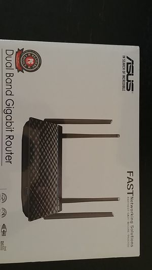 ASUS Dual Band Gigbit Router, RT-ACRH13 for Sale in Rye, NY