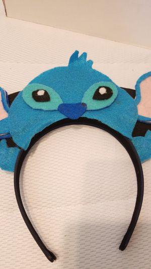 Stitch Disney ears from Esty for Sale in Boca Raton, FL