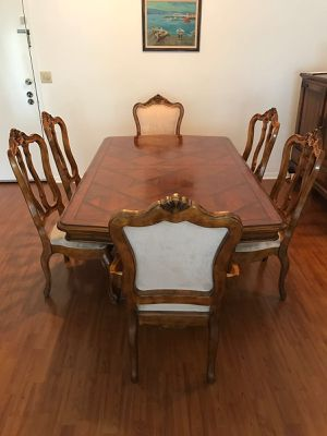 Dining Table Set Ethan Allen Tuscany for Sale in Miami, FL