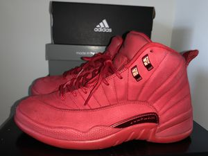 Air Jordan gym red retro 12 for Sale in Rockville, MD