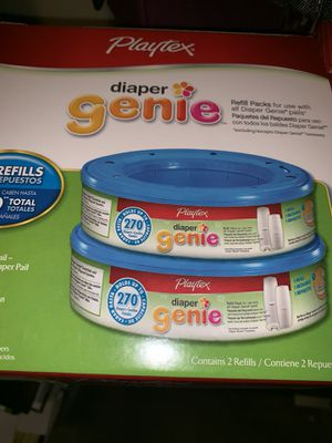 Genie bags diapers for Sale in Pickerington, OH