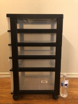 Plastic 5 Drawer Organizer for Sale in Edison,  NJ