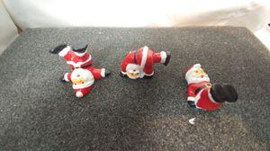 Vintage Christmas Santa Claus Ceramic Miniature figurines for Sale in Fullerton, CA